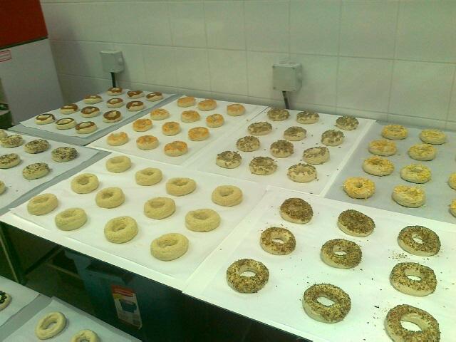 bagels chocolat, olive, sésmae, oignon, nature, canelle